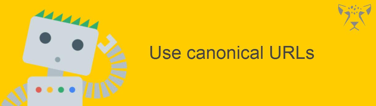 استفاده از آدرس canonical