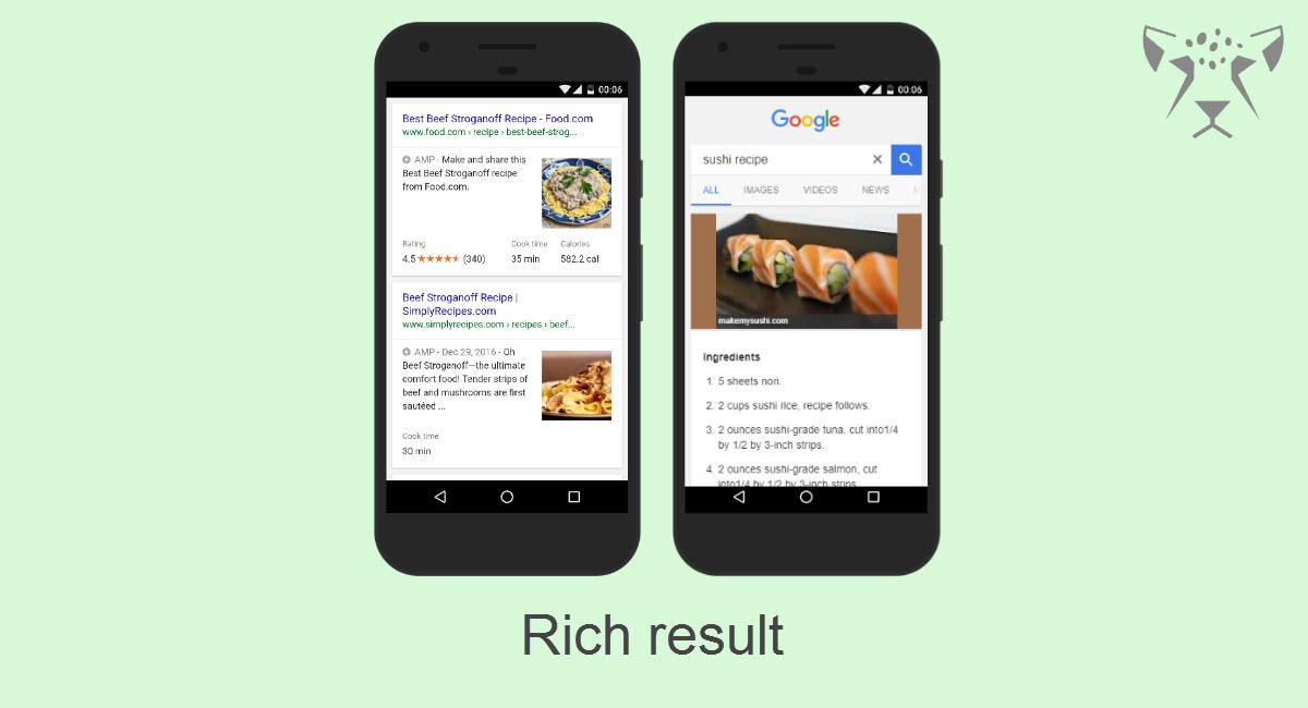 Rich result چیست