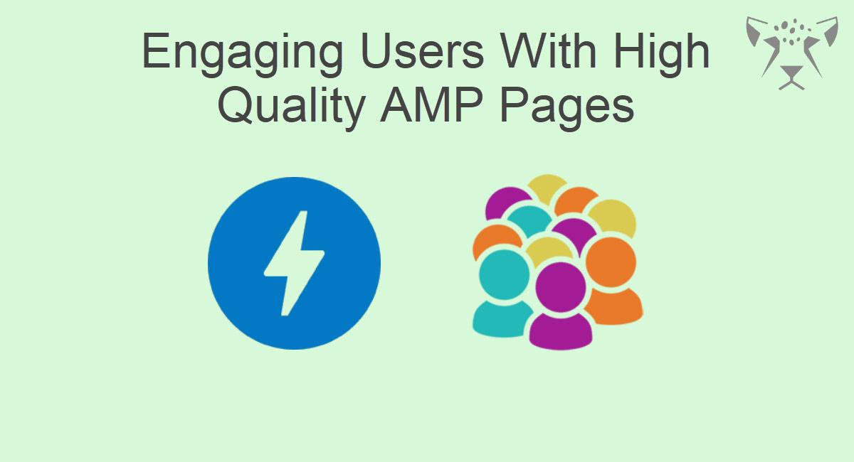 جذب کاربر با صفحات AMP با کیفیت