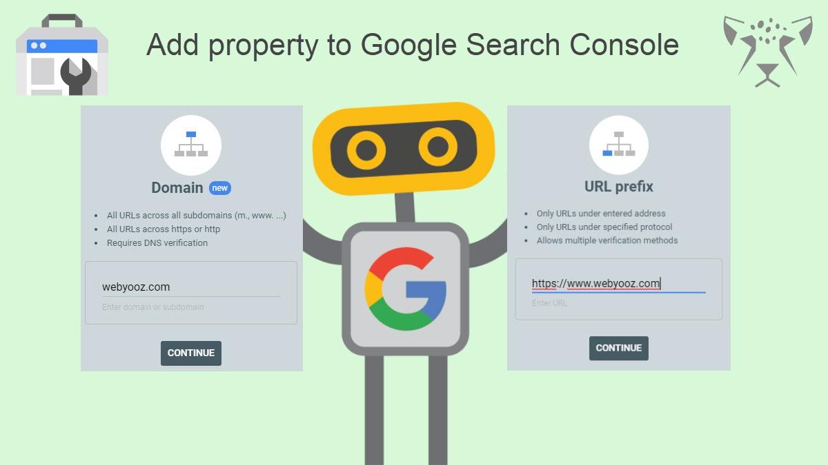 آموزش اضافه کردن سایت در گوگل سرچ کنسول