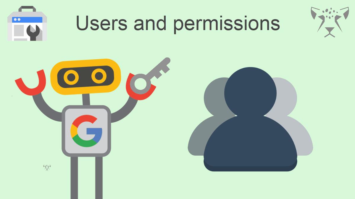 مدیریت کاربران در گوگل سرچ کنسول